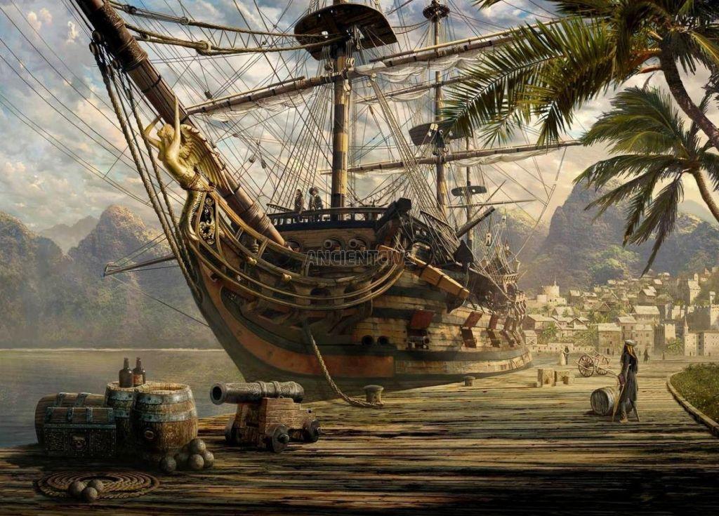 Порт-Ройял - пиратская столица на морском дне